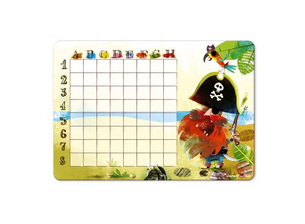 Настольная магнитная игра Janod «Морской бой», фото , изображение 8