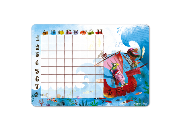 Настольная магнитная игра Janod «Морской бой», фото , изображение 9