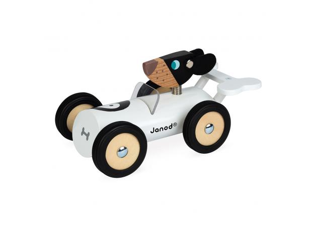 Каталка-машинка для малышей Janod «Бернард», фото , изображение 2