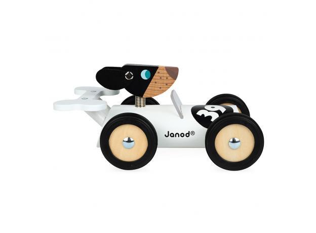 Каталка-машинка для малышей Janod «Бернард», фото , изображение 3