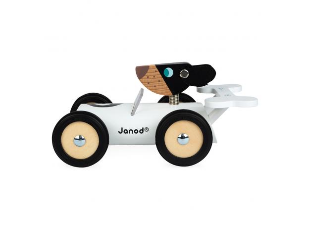 Каталка-машинка для малышей Janod «Бернард», фото , изображение 4
