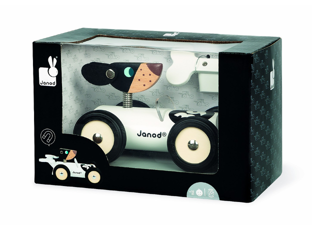 Каталка-машинка для малышей Janod «Бернард», фото , изображение 5