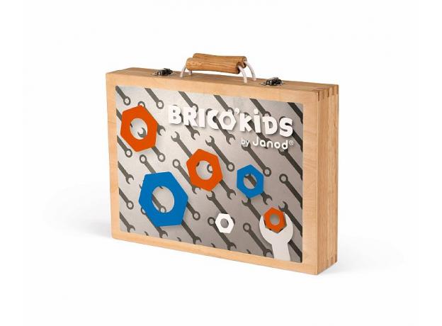 Набор инструментов Janod «Brico'Kids» в чемоданчике, фото , изображение 5