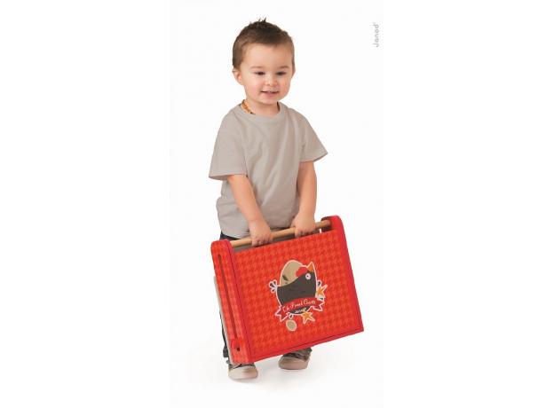 Переносная кухня-чемоданчик Janod «Курочка» с аксессуарами, фото , изображение 7