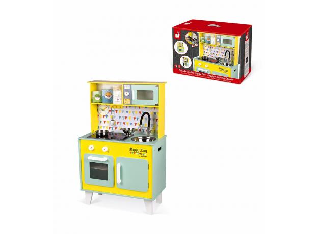 Детская игровая кухня Janod «Happy Day», фото , изображение 16