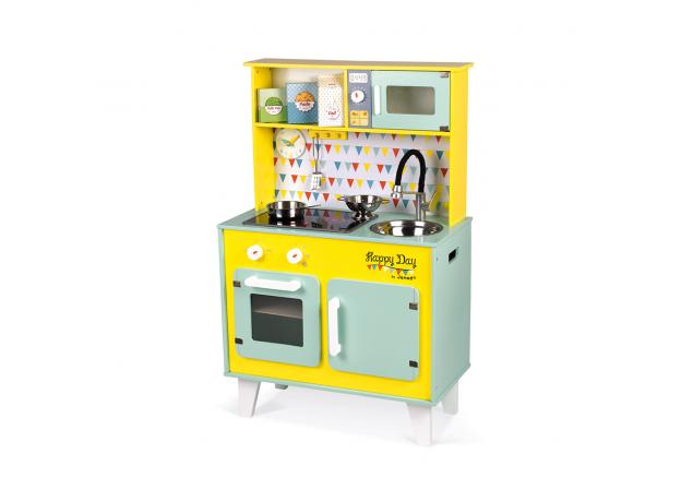 Детская игровая кухня Janod «Happy Day», фото , изображение 4
