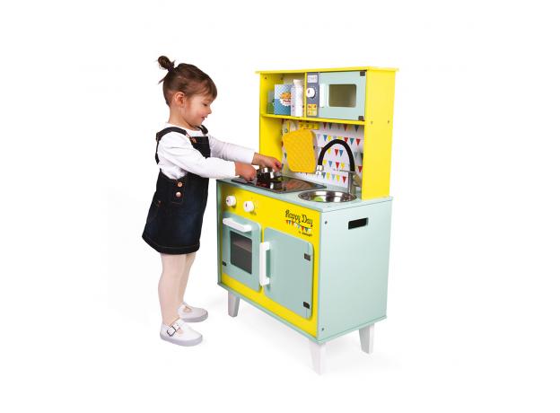 Детская игровая кухня Janod «Happy Day», фото , изображение 13