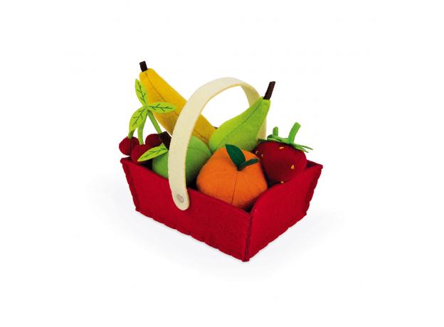 Набор фруктов Janod в корзинке: 8 предметов, фото