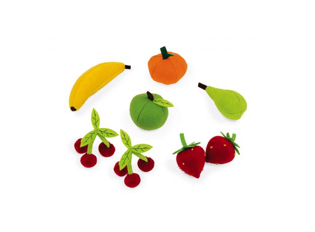 Набор фруктов Janod в корзинке: 8 предметов, фото , изображение 6