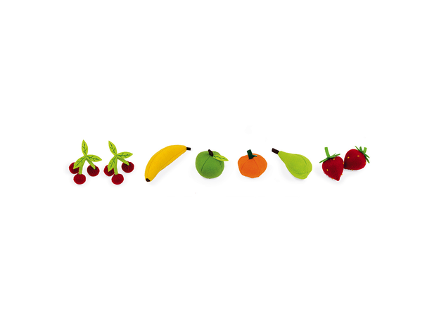 Набор фруктов Janod в корзинке: 8 предметов, фото , изображение 7