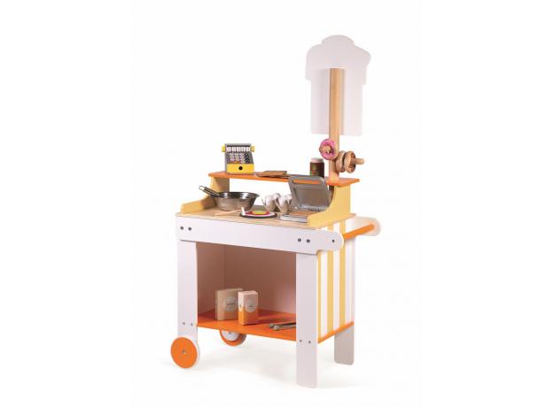 Мини-магазин на колесах Janod «Пекарня-кондитерская», фото , изображение 5