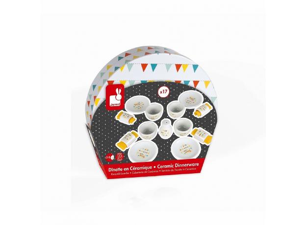 Сервиз обеденный игрушечный Janod «Happy Day», фото , изображение 11