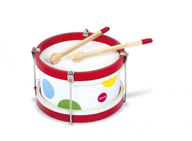 Деревянный барабан Janod, фото , изображение 2