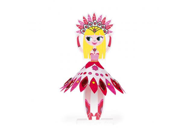 Набор для творчества Janod «Принцессы мира», 9 прицесс, фото , изображение 4