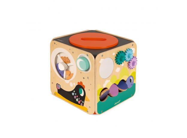 Развивающий куб Janod с комплектом игр: 8 видов активностей, фото , изображение 6