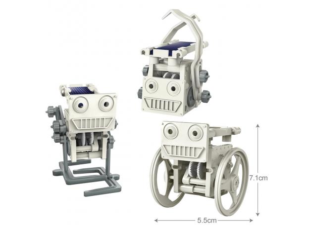 Набор 4M 00-03377 Солнечные мини-роботы. 3 в 2, фото , изображение 7