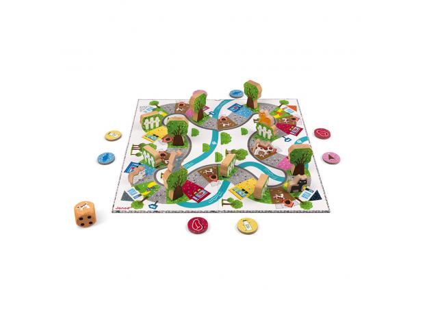 Настольная игра Janod «Кошачьи бега», фото , изображение 2