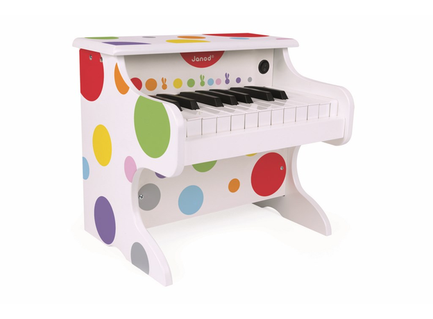 Электронное пианино белое Janod, фото , изображение 2