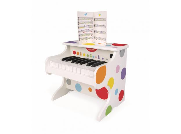Электронное пианино белое Janod, фото , изображение 4