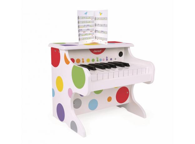 Электронное пианино белое Janod, фото , изображение 5