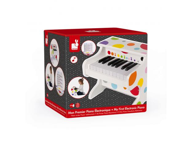 Электронное пианино белое Janod, фото , изображение 10