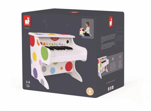 Электронное пианино белое Janod, фото , изображение 11
