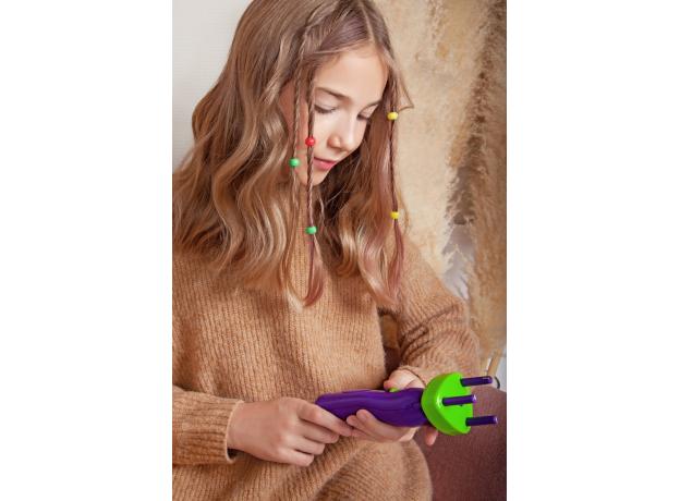 Набор для творчества CREATIVE TOYS LTD 5832 Стильные Косички с машинкой для плетения, фото , изображение 17