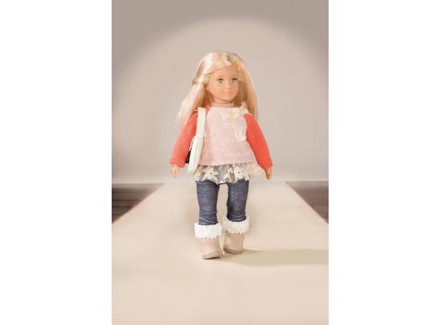 Одежда для куклы Lori с ажурной кофтой, фото , изображение 2