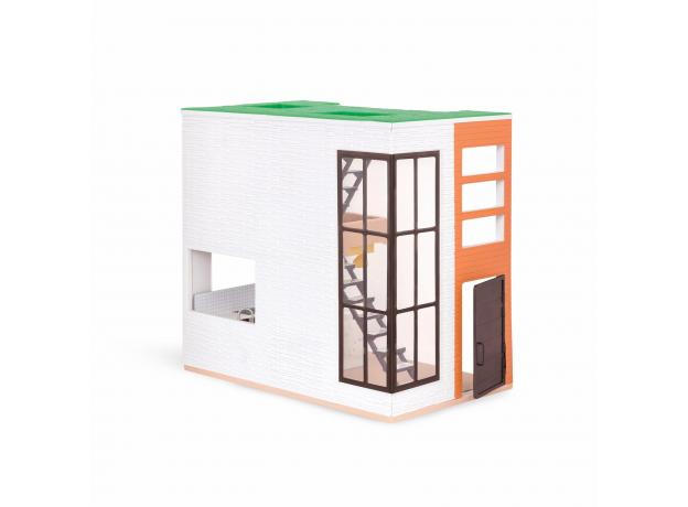 Дом для куклы с аксессуарами; пластмассовый, фото , изображение 3