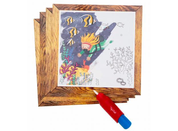 Набор для рисования водой Tiger Tribe «Океан», фото , изображение 6