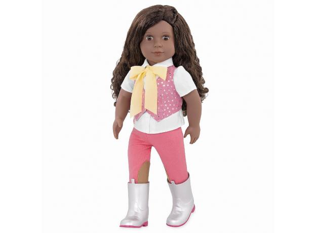 Кукла мулатка 46 см Our generation Мануэлла; наездница, фото
