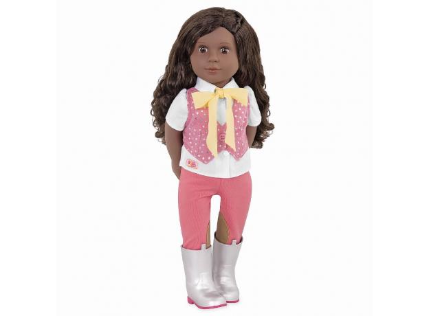 Кукла мулатка 46 см Our generation Мануэлла; наездница, фото , изображение 2