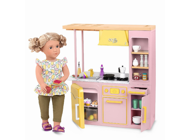 Игровой набор Our generaion «Современная кухня с аксессуарами», фото