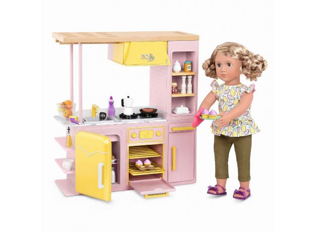 Игровой набор Our generaion «Современная кухня с аксессуарами», фото , изображение 3