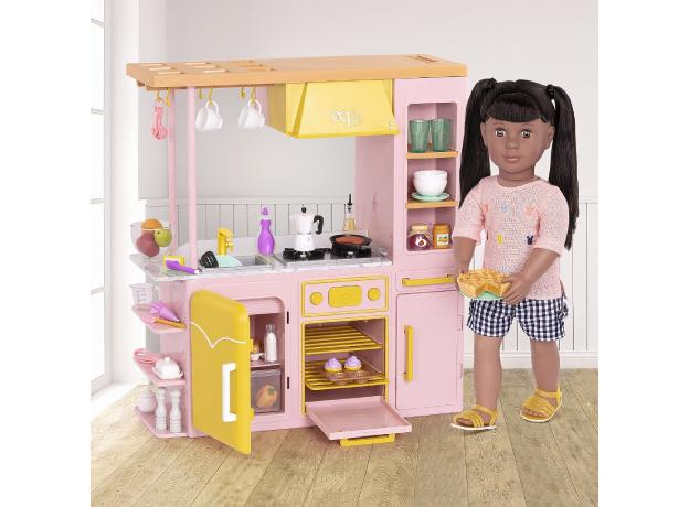 Игровой набор Our generaion «Современная кухня с аксессуарами», фото , изображение 4