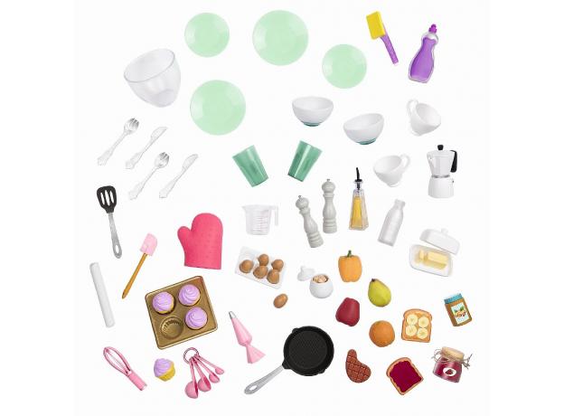 Игровой набор Our generaion «Современная кухня с аксессуарами», фото , изображение 8